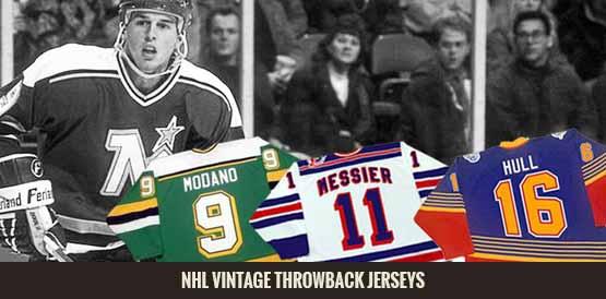 NHL Vintage Throwback Jerseys